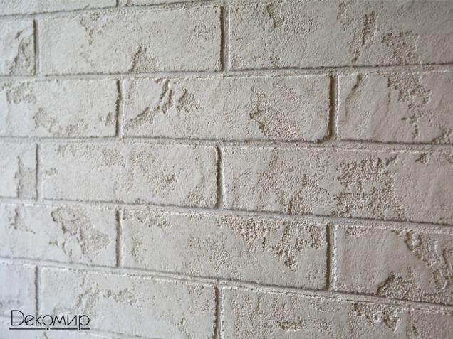 Стены из декоративного кирпича своими руками